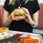 Hello VEGAN GLUTEN FREE burger!! went to Boston yesterday onhellip