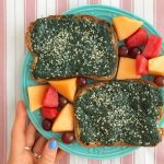 Chia pudding on toast!!!  Saw this idea on Instahellip