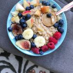 Breakfast is served!! Just a cozy bowl of oats withhellip