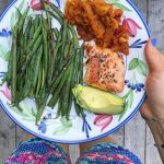 Salmon Saturday!  worked a farmers market this morning afternoonhellip